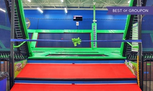 Rebounderz of Hurst: Two or Four One-Hour Jump Passes at Rebounderz of Hurst (Up to 48% Off)