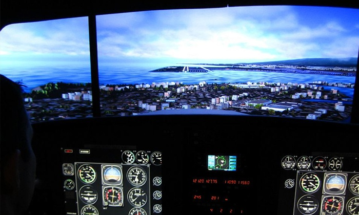 Southwest Flight Center - Scottsdale Municipal Airport: $99 For a Flight Simulator Session for One or Two at Southwest Flight Center (a $270 Value)