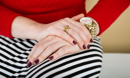Natural Nail or Shellac Manicure  at Hair Fiddlers (Up to 50% Off)