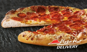 Pizza Hut: Pizza Hut: Small (£1.99), Medium (£2.99) or Large (£4.99) Pizza at Seven Locations with Delivery Option (Up to 81% Off)