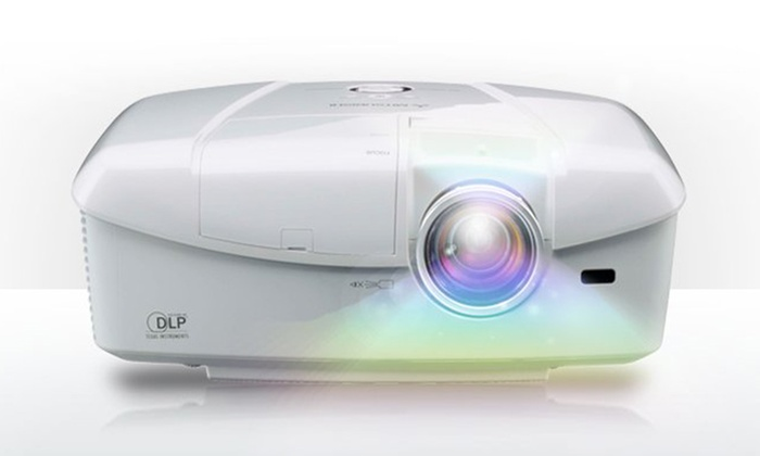 Mitsubishi 1080p 3D DLP Home Theater Projector: Mitsubishi 1080p 3D DLP Home Theater Projector with Optional 3D Glasses (Up to 40% Off). Free Shipping and Returns.