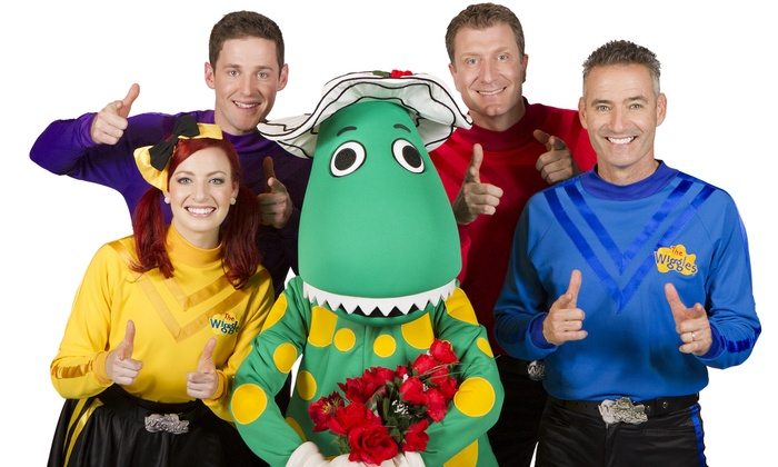 """""""The Wiggles"""" - Palace Theatre: The Wiggles (September 29 at 6:30 p.m.)"""