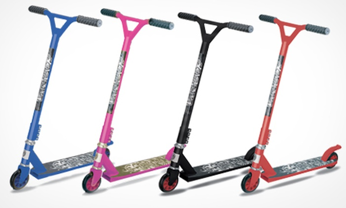 Groupon Goods Global GmbH: Tornado 360 Stunt Scooter in Choice of Colours for £35 With Free Delivery (50% Off)