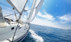 Pacific Sailing: Three-Hour Sailing Lesson for One or Two, or Seven-Day Certification from Pacific Sailing (Up to 64% Off)