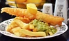 Cod and Chips For Two £8.50