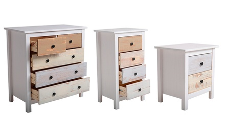 table de chevet chiffonier commode groupon shopping. Black Bedroom Furniture Sets. Home Design Ideas