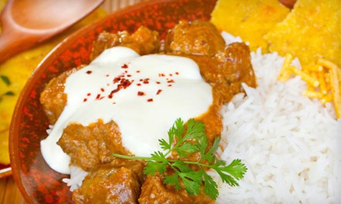 Lal Qila - Palatine: $15 for $30 Worth of Indian and Pakistani Cuisine at Lal Qila