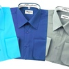 Berlioni Men's Convertible-Cuff Dress Shirts