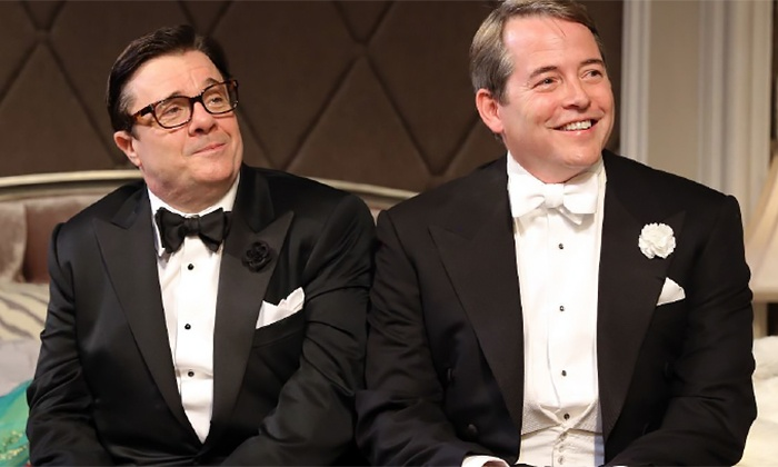 """It's Only A Play"" - Bernard B. Jacobs Theatre: ""It's Only A Play"" Starring Matthew Broderick and Nathan Lane through May 31 (Up to 29% Off)"