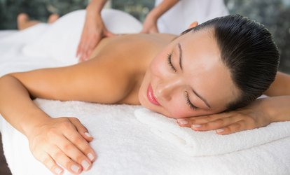 image for 30-Minute Full-Body Swedish Massage with Optional Facial at Hair and Beauty Spot