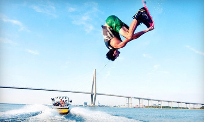 Trophy Lakes - Charleston: Watersports at Trophy Lakes (Up to 55% Off). Three Options Available.