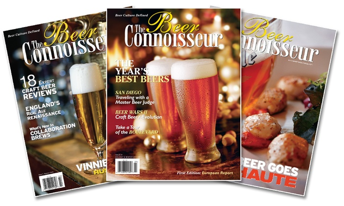 _The Beer Connoisseur_: 1-Year Subscription or 2-Year Subscription to <i>The Beer Connoisseur</i> Magazine