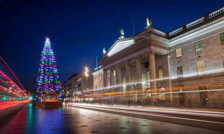 ✈ Dublin: 24 Nights at Dublin Central Inn with Flights, Xmas Market and Optional Guinness Storehouse Tour*