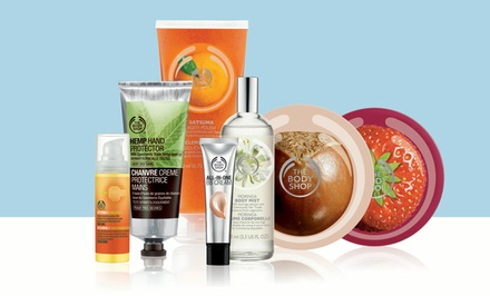 $10 for $20 Worth of Ethical Skincare, Makeup, Hair, and Body Products In-Store at The Body Shop