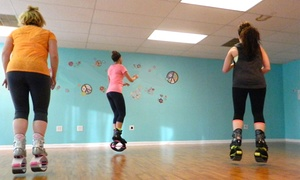 Jump Studio: 5 or 10 Plyo Dance Classes with Boot Rental at Jump Studio (Up to 68% Off)