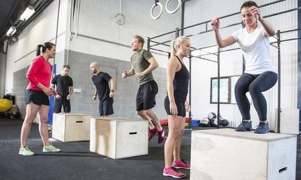 10 or 20 Fitness Bootcamp Classes or 5 Intro to Weightlifting Classes at Falls Fitness (Up to 75% Off)