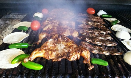 Two or Four Half Chickens w/ Rice and Beans and Drinks, or $20 Worth of Takeout at El Buen Pollo (Up to 45% Off)