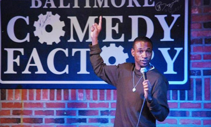 Baltimore Comedy Factory - Baltimore: Standup Show for Two or Four at Baltimore Comedy Factory (Up to 59% Off)