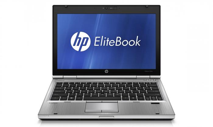 "HP EliteBook 12"" Notebook PC with Intel Core i5 Processor: HP EliteBook 12"" Notebook PC with Intel Core i5 Processor, 4GB RAM, and 320 GB Hard Drive (Refurbished)"