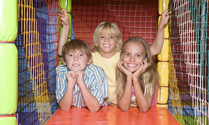 Hippohopp - Atlanta - North Atlanta: Indoor Playground Visit with Organic Juice Boxes for Two or Four Kids at HippoHopp (Up to 35% Off)