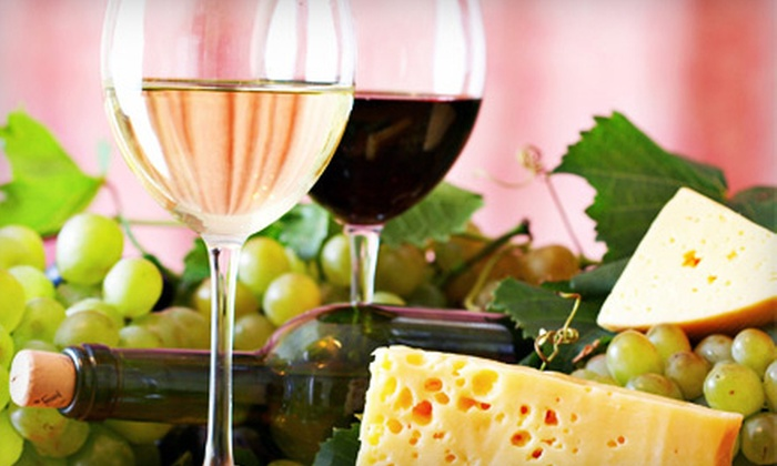 Boutier Wine & Design - Acworth: Wine-and-Cheese Tasting for Two or Four with Take-Home Bottles at Boutier Wine & Design (Up to 54% Off)