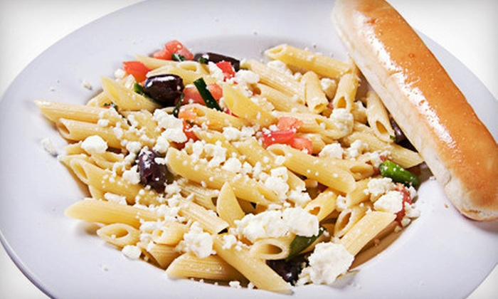 Lotsa Noodles - Northwest Oklahoma City: $8 for $16 Worth of Sandwiches, Pizza, and Pasta and Nonalcoholic Drinks at Lotsa Noodles