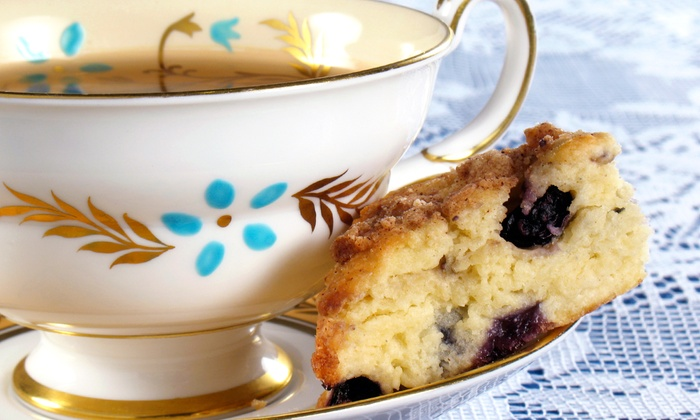 Leaf Kitchen - Twain: Cream Tea with Scones and Jam for Two or Four at Leaf Kitchen (Half Off)