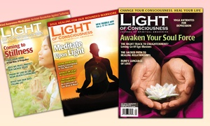 Light of Consciousnesss: One- or Two-Year Print Subscription from Light of Consciousness (Up to 69% Off)