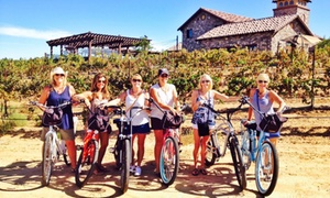 Pedego Wine Tours: 2-Hour Electric Bike Rentals or Electric Bike Wine Tour For Two at Pedego Wine Tours(Up to 55% Off)