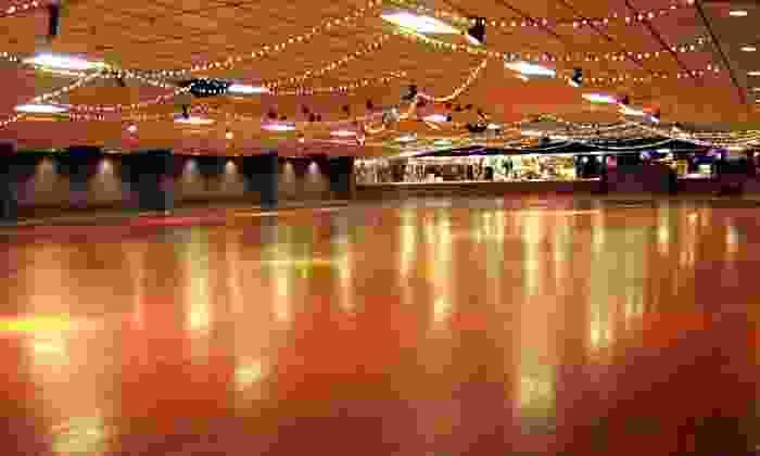 Westlake Skate Center - Garland: Skating with Pizza and Soda for 4 or 6 at Westlake Skate Center in Garland (Up to 53% Off)