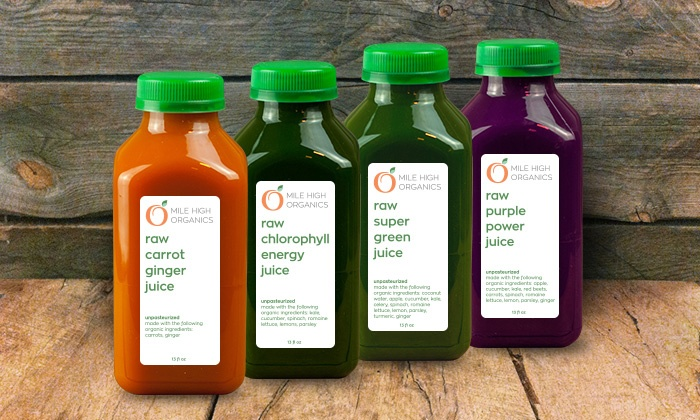 Mile High Organics - Denver: Two-, Three-, or Five-Day Raw-Juice Cleanse from Mile High Organics (Up to 38% Off)