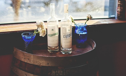 Distillery Tour, Tasting, and Souvenir Glass for Two, Four, or Six at Du Nord Craft Spirits (Up to 50% Off)