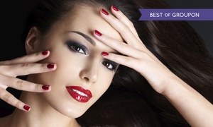 Scissorz Hair & Beauty: Shellac or Gelish Manicure or Pedicure (from £9) or Both (from £16) at Scissorz Hair & Beauty (Up to 60% Off)
