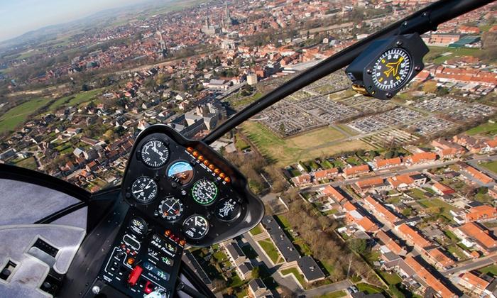 Toran Heliservice - Différents lieux: Spectaculaire helikoptervlucht voor 1 persoon bij Toran Heliservice