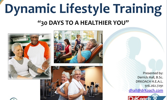 Dr. Koach - Sacramento: $45 for $360 Worth of Personal Training On Location Or Via Skype at Dr. Koach