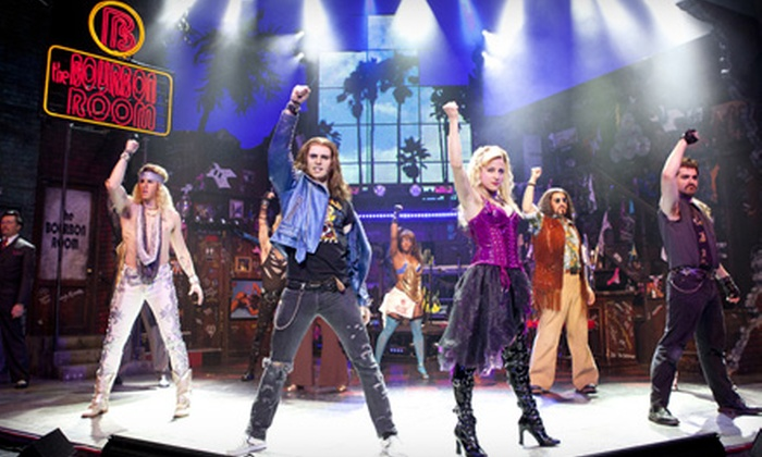 """""""Rock of Ages"""" - The Dome at Toyota Presents Oakdale Theatre: $30 to See """"Rock of Ages"""" Musical at Toyota Presents Oakdale Theatre on April 14 at 7 p.m. (Up to $80 Value)"""