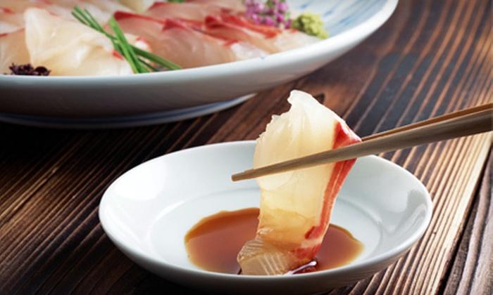 Okinawa - Mount Kisco: Sushi, Hibachi, and Drinks Monday–Thursday or Friday–Sunday at Okinawa in Mount Kisco (Up to 58% Off)
