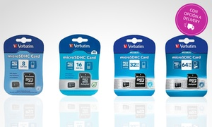 Memoria Micro SD Verbatim