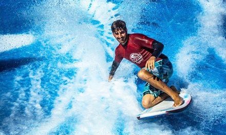 FlowRider Wave Ride with Pool Entry & Beverage for Two or Cabana Option for Four at Planet Hollywood Pools (Up to 50% Off)