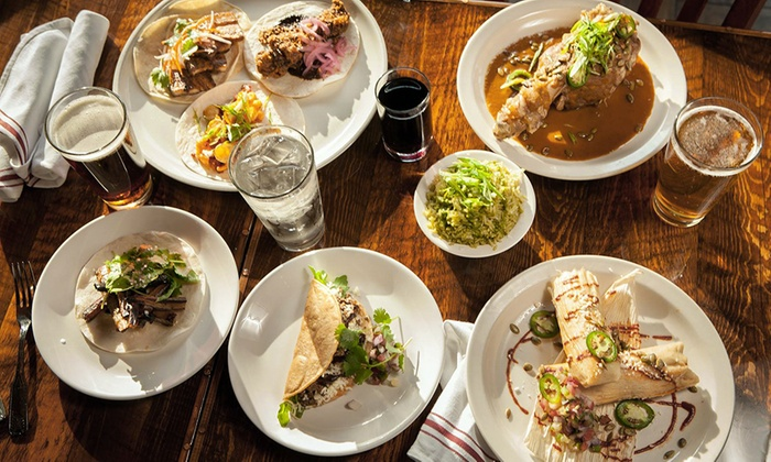 Saguaro - South Minneapolis: Arizona-Mexican Cuisine for Brunch or Dinner at Saguaro (Up to 36% Off)