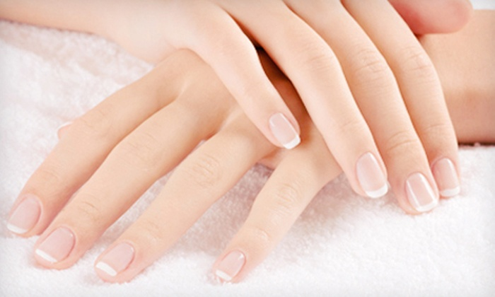 Sasha G Salon and Spa - Wheeling: $42 for a No-Chip or Hydrating Manicure and Classic Pedicure at Sasha G Salon & Spa (Up to $100 Value)