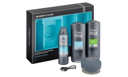 Three for Two Dove Men+ Care Gift Sets with Shower Speakers