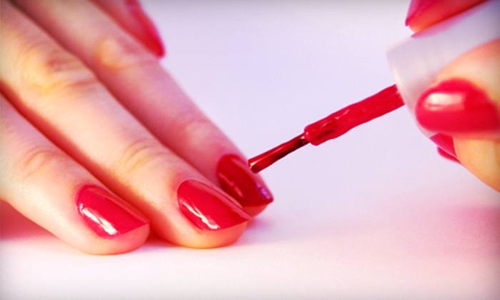 Elevate Hair Studio - Appleton: One or Three Shellac Manicures at Elevate Hair Studio (Up to 57% Off)