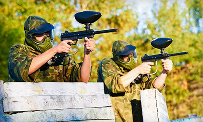 Wacky Warriors - Multiple Locations: Open-Play Paintball for Two, Four, or Six with Equipment and 100 Paintballs Per Person at Wacky Warriors (Half Off)