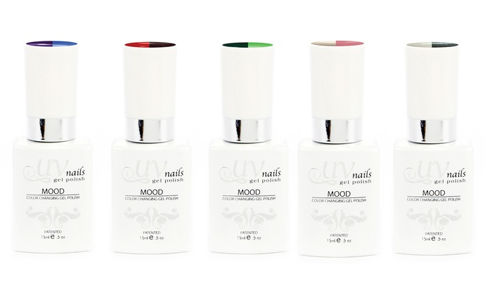 UV-Nails Mood-Changing Gel Polish; 15ml