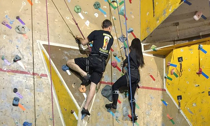The Climbing Place - Downtown Fayetteville: Indoor Climbing at The Climbing Place (Up to 50% Off). Three Options Available.