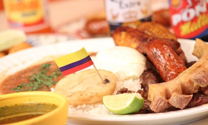 Los Parceros Colombian Food - West Palm Beach: $12 for $25 Worth of Colombian Food at Los Parceros Colombian Food