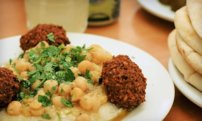 Yazmyne'z Restaurant and Mediterranean Cuisine - Pflugerville: $15 for $30 Worth of Mediterranean Food at Yazmyne'z Restaurant and Mediterranean Cuisine