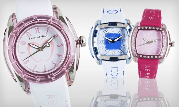 Baci & Abbracci Women's Watches: Baci & Abbracci Women's Watches (82% Off). Nineteen Options Available. Free Shipping and Free Returns.