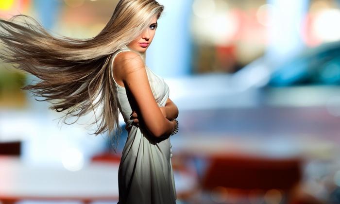 Ahz @ Toss Hair Salon & Spa - South Loop: $50 Off Silkening Treatment at Ahz @ Toss Hair Salon & Spa